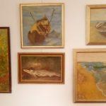 Tablouri cu flori şi peisaje marine, în memoria pictorului Constantin Mosoia