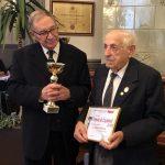 Seniorul culturii argeşene, Mihail Ghiţescu, sărbătorit la 99 de ani